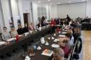 Spotkanie informujące o możliwości ubiegania się w 2020 roku o środki z Krajowego Funduszu Szkoleniowego - Uczestnicy w dniu 12.02.2020 r.